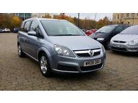 2008 Vauxhall Zafira 1.8 i VVT 16v Breeze 7 Seats with NEW CAMBELT & WATR PUMP FITTED