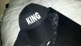 Brand new king baseball cap