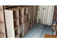 Storage stacking shelves cupboards