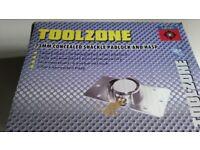 Two Toolzone Concealed Shackle Padlocks