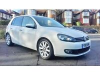 VOLKSWAGEN GOLF 2.0 2010 WHITE MANUAL **MINT CONDITION**FIRST TO SEE WILL BUY**