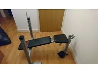 York Weigh Bench with Decline Hardly used