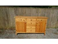 5 foot pine sideboard