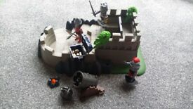 Playmobil knights action set cannon fort