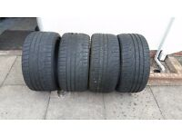 Pirelli sotto zero winter tyres full set *part worn*
