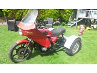 kawasaki trike , the growler,