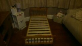 Wooden Junior Bed