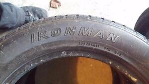 Ironman Imove 225/55R17 two available 8/32