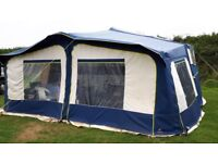 A great family Trailer Tent/Folding Camper. Excellent Condition. Includes Awning and Groundsheet.