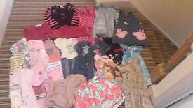 Girls mix bundle of clothes UK 3-4 years