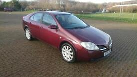 NISSAN PRIMERA 2.2dCi SX 5dr [138] - Cheap PX car to clear (red) 2005