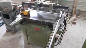 Ontario: Boring Machine, Dovetailer, Wide belt Sander, Compressor, Router... at Brighton Woodworking Machinery
