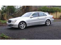 Late 2003 Mercedes E320 CDI AVANTGARDE AUTO, ,trade in considered, credit cards accepted