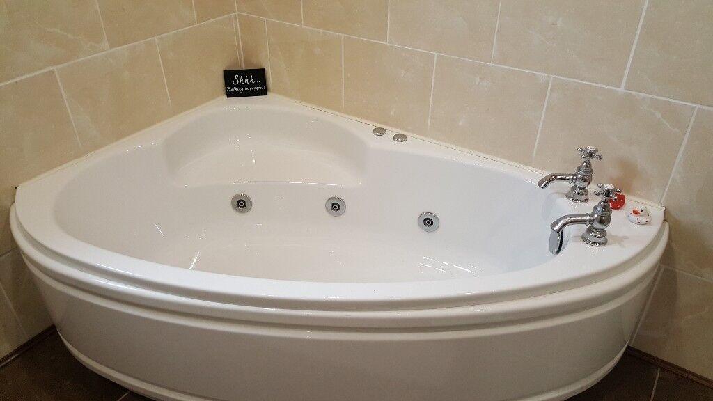 Whirlpool corner bath | in Fintona, County Tyrone | Gumtree