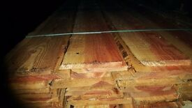 Waney lap boards larch x30