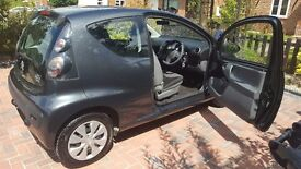 2011 Citroen C1 1.0 VTR: 3 door, Metalic Grey, 23k mileage, CD, A/C, New MOT, £20 Tax, FSH