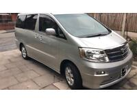 Toyota alphard 2.4ltr lpg gas converted cheapest in the country!!!