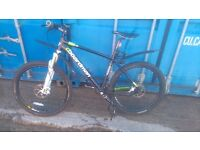 C Boardman pro mountain bike 17in frame