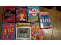 7x Jacqueline Wilson books