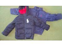Boys size 6 Ralph Lauren jackets