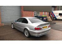 Bmw e46 328i coupe silver manual