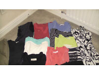 Bundle of top quality women's tops etc. VGC 12 items. All Size 28