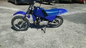 Pw80 off road motorbike