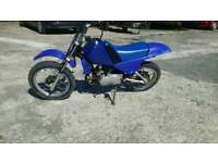 Pw80 off road motorbike