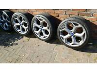 Ford focus st wheels new shape st