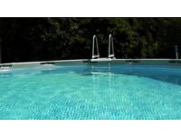 Intex Ultra Frame Pool with Heater, Saltwater System, Sand Filter and More