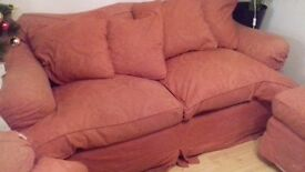 Preloved Burghley Tetrad 2 seat sofa (comfortably seats 3 people) and armchair in great condition.