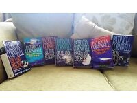 PATRICIA CORNWELL PAPER BACK JOB LOT BUNDLE 7 IN TOTAL ASSORTED