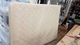 Cream double mattress (Used in music video shoot)