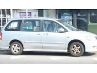 Mazda MPV. Great runner. Reliable. Going overseas. 7 months MOT. PRICE SLASHED TO £225