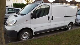 Vauxhall Vivaro LWB, 109234 miles, 1 owner, full service history £5800 NO VAT TO PAY