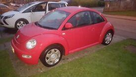 2000 W reg VW Beetle 2.0 8v