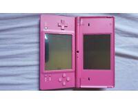 Pink nintendo dsi including games
