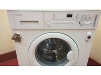 John Lewis Integrated 1400 Washing Machine with Quick Wash for sale