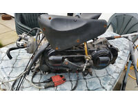 Piagio 50cc ENGINE water cooled very good condition