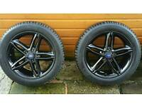 Brand new ford focus alloys and tyres
