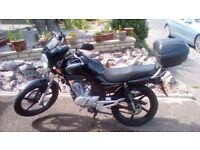 Yamaha YBR 125 - excellent, reliable, starts first time