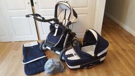 Pram,pushchair,carrycot,foot muff,sun shade etc all virtually as new
