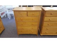 Ex-Display Julian Bowen Kendal 4+2 Drawer Chest **CAN DELIVER**
