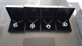 24 different styles of womens necklace