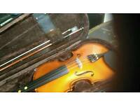 1/2 violin for sale with case