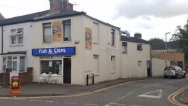 Fish & Chips, PIZZA/KEBAB, And 3 Bed Flat Above For Sale