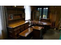 Priory dark oak furniture