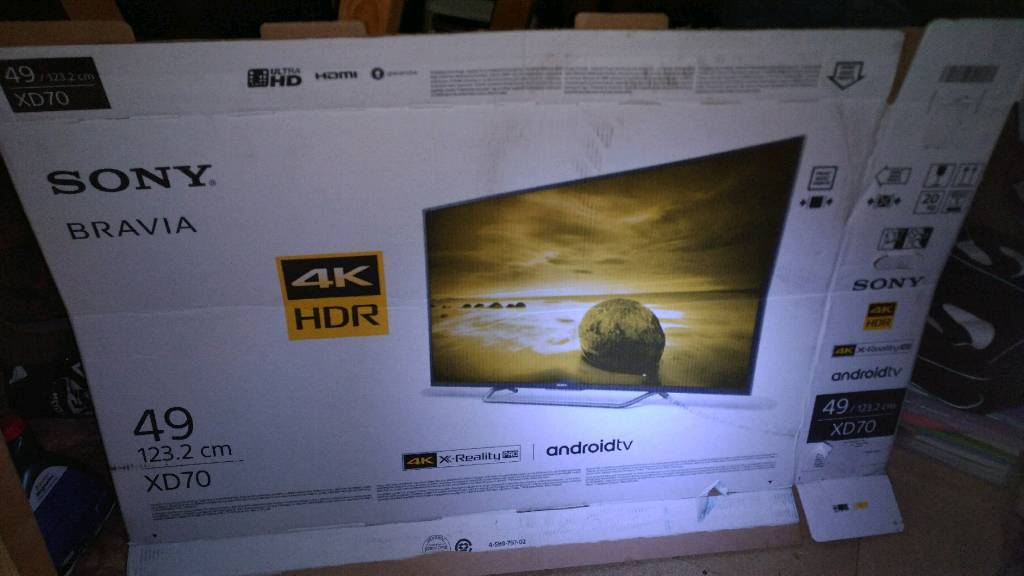 Sony 4K Android tv 49 inch