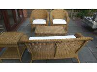 Five piece garden furniture set