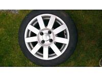 Ford Puma 15 inch Alloy wheels